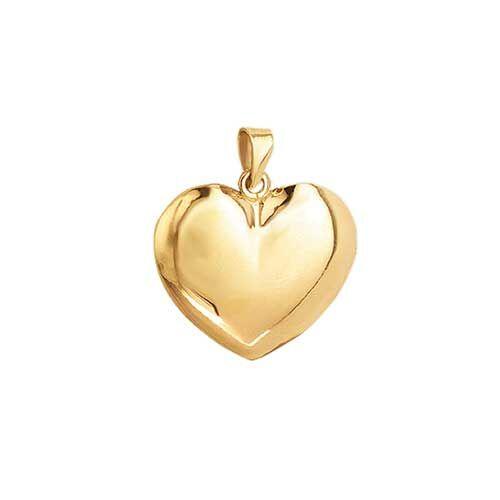 Aagaard Hjerte 8 Karat Guld Vedhæng 0887005-1