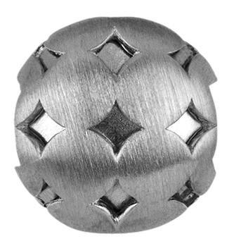 Image of   byBiehl Structure Charm i Sterling Sølv 1-601-R