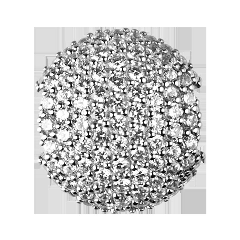 Image of   byBiehl Sparkle Sterling Sølv Charm 1-701A-R