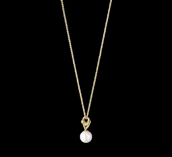 Georg Jensen Magic Halskæde i 18 Karat Guld med Diamanter 10009352
