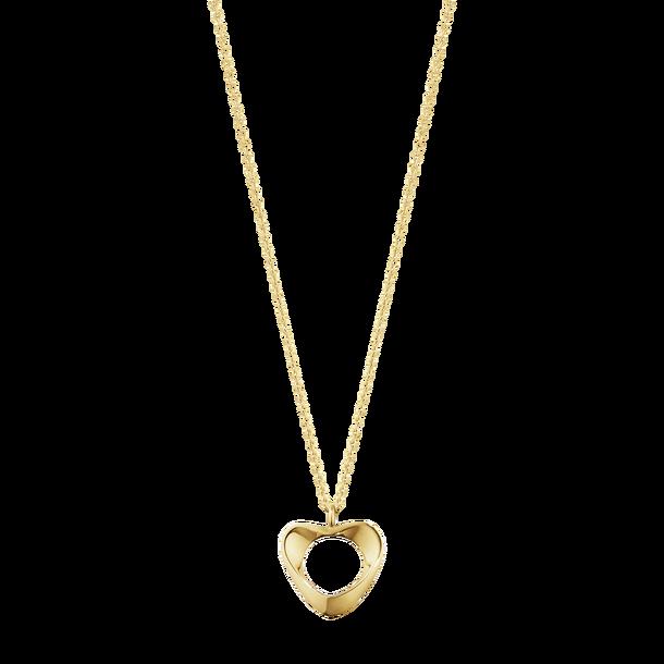 Hearts of Georg Jensen halskæde i guld