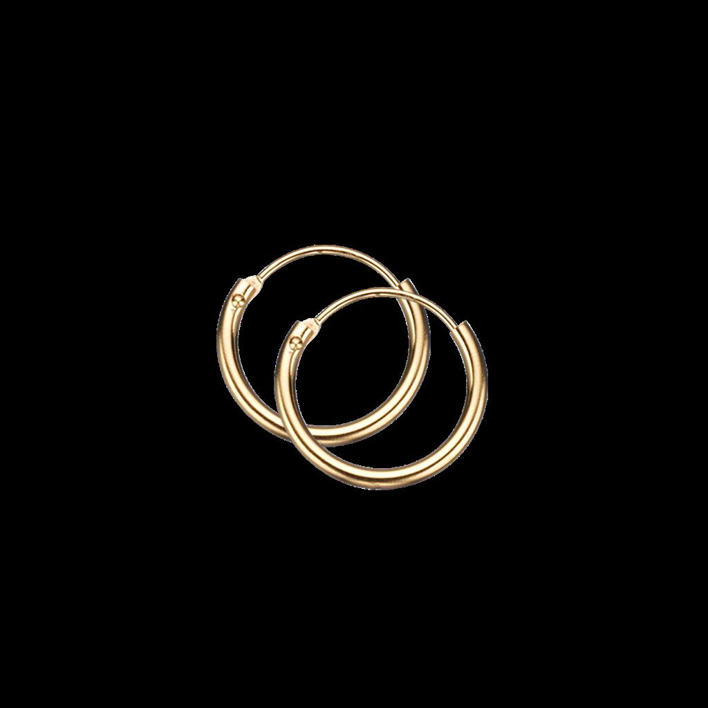 Image of   8 Karat Guld Øreringe fra Scrouples 10123
