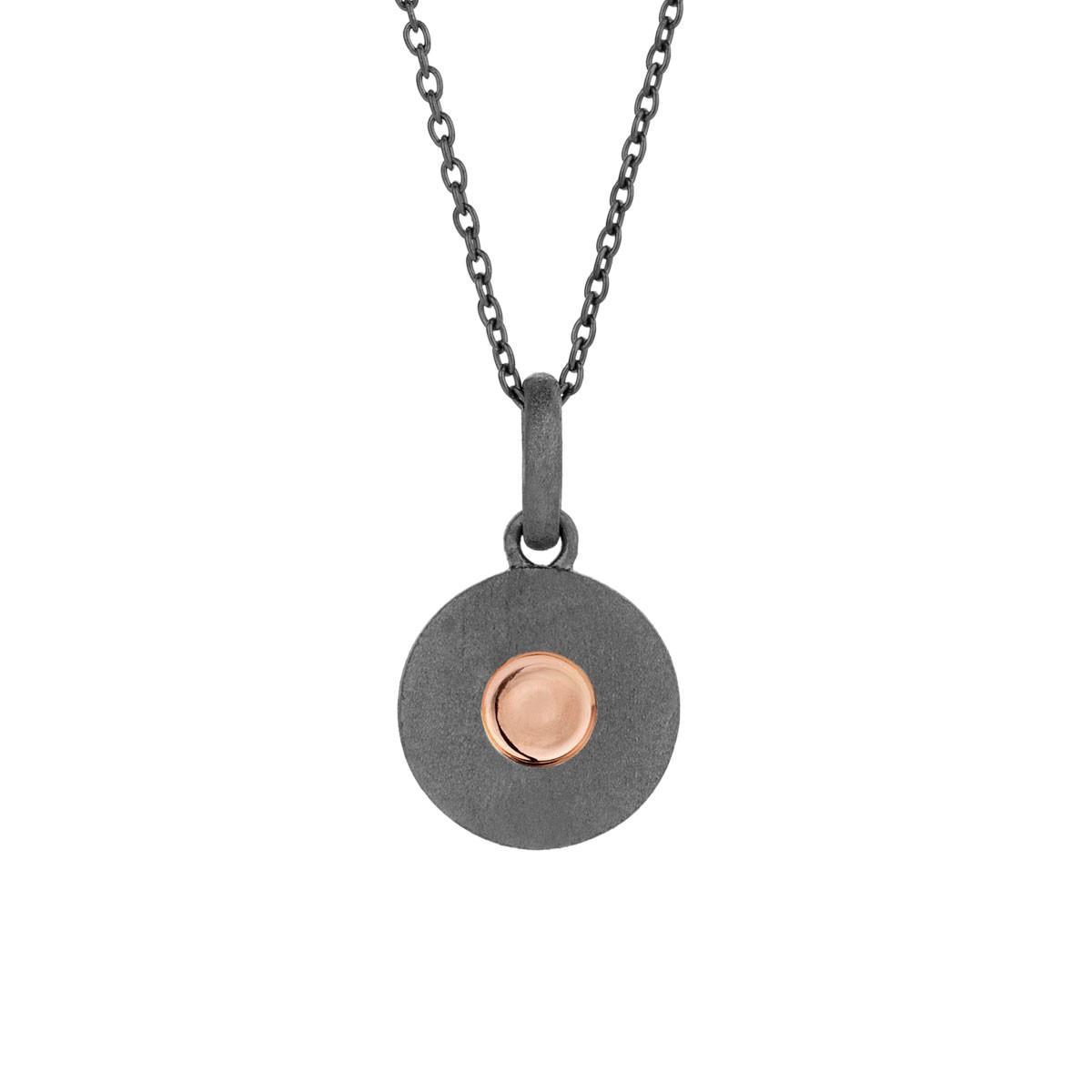 Raw Sølv Halskæde fra Spirit Icons S10314-45