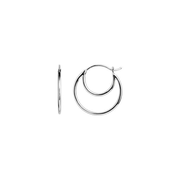 Double Creol Sterling Sølv Ørering fra Stine A 1136-00-S