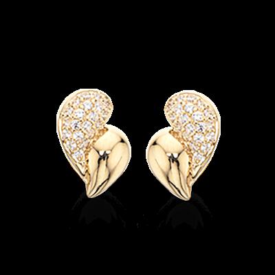 8 Karat Guld Øreringe fra Scrouples 116833