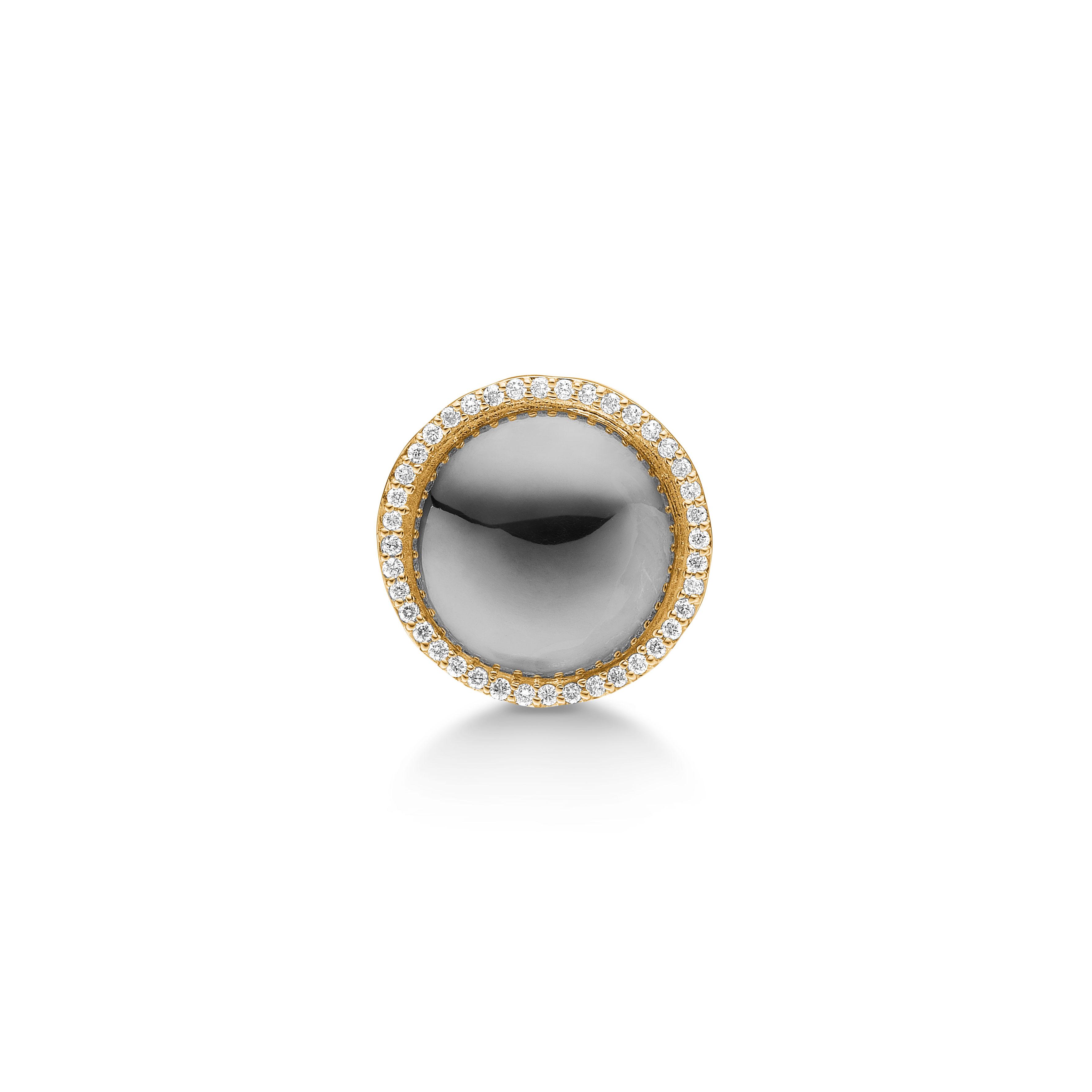 Image of   14 Karat Guld Smykkelås fra Aagaard med Brillanter 0,005 Carat W/P1