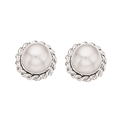 Sølv Øreringe fra Scrouples 142102