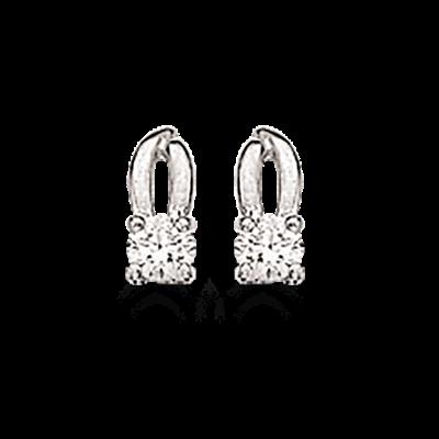 Sølv Øreringe fra Scrouples 145972