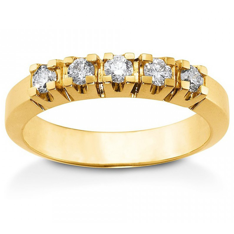 Image of   Aagaard Mary ring i 14kt guld