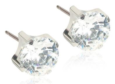 Blomdahl Tiffany ørestikker 5 mm