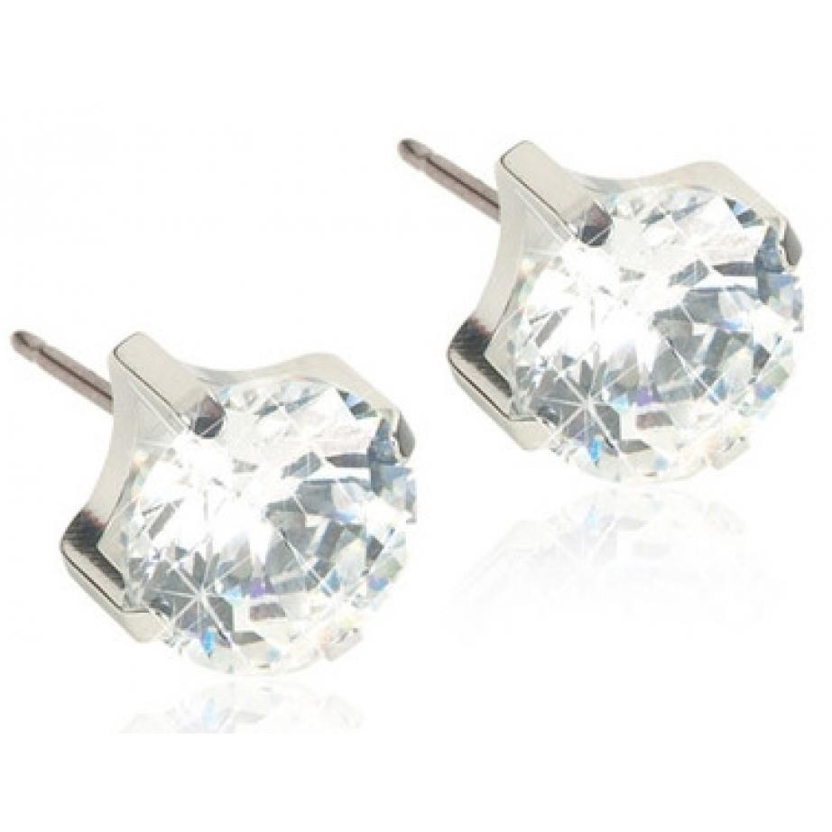 Blomdahl Tiffany ørestikker 4 mm