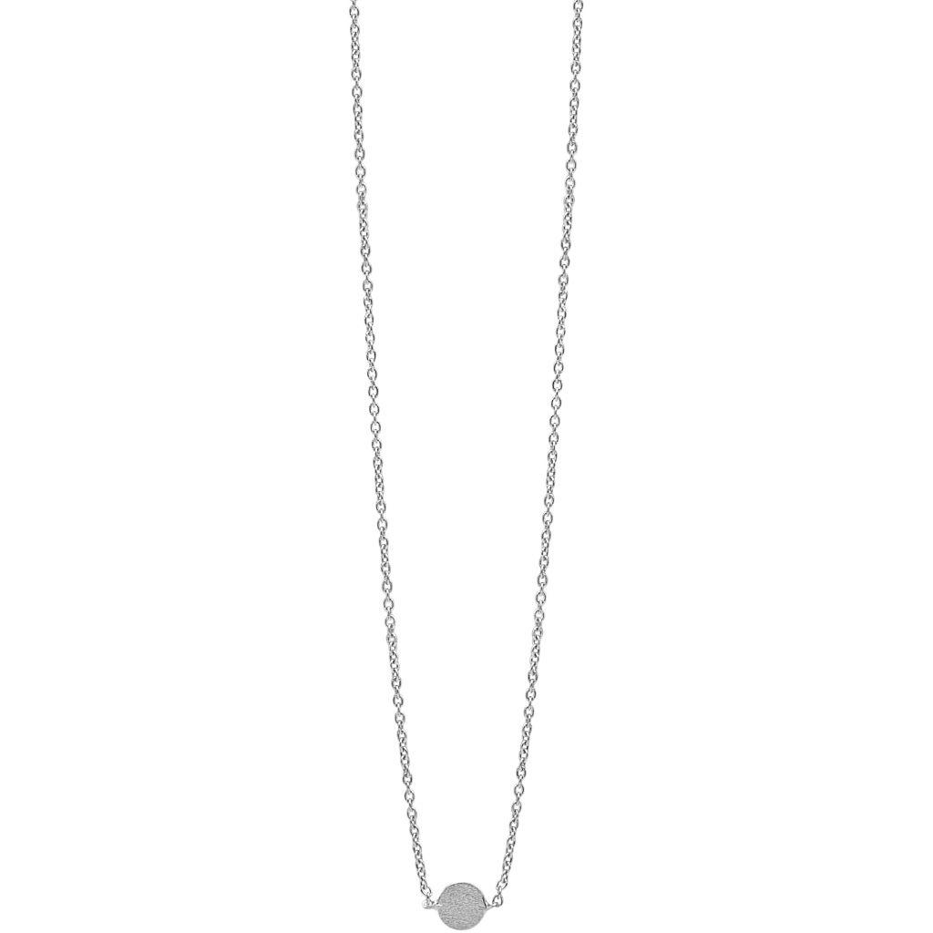 Coin Sterling Sølv Halskæde fra Enamel N12SM