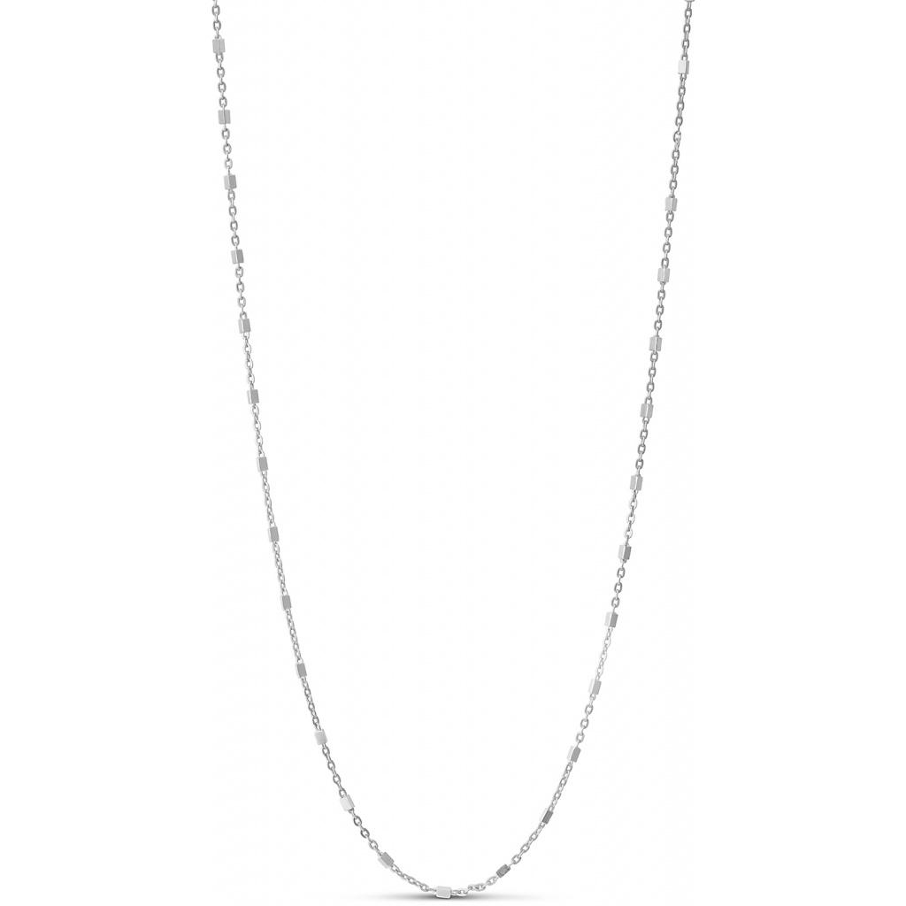 Elva Sterling Sølv Halskæde fra Enamel N47SM