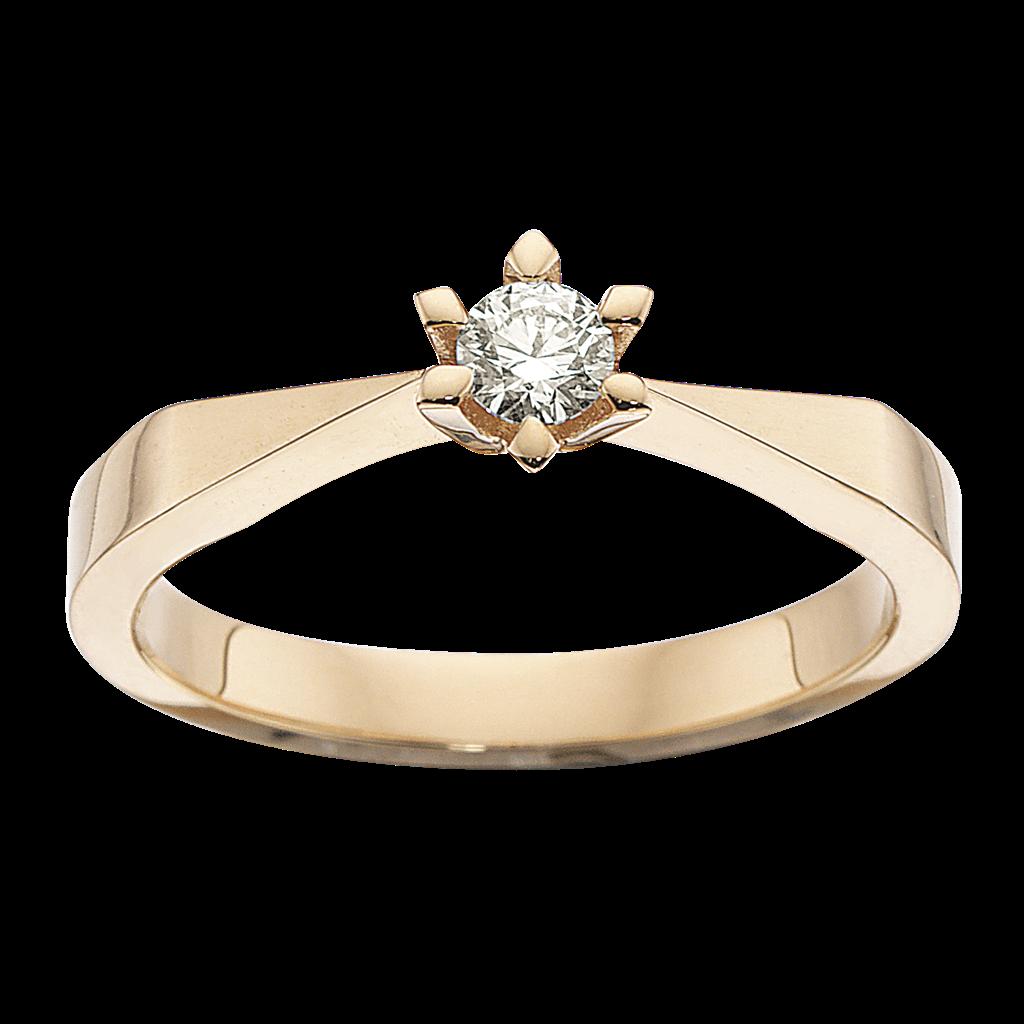 Victoria Ring 0,15 ct. i 14 Karat Guld fra Scrouples