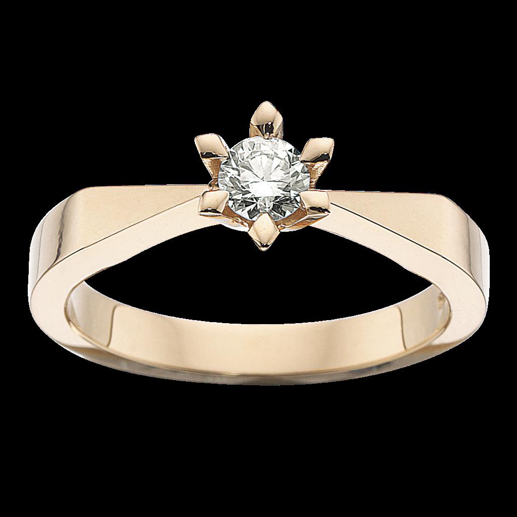Victoria Ring 0,33 ct. i 14 Karat Guld fra Scrouples