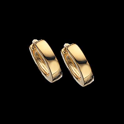 8 Karat Guld Øreringe fra Scrouples 190623