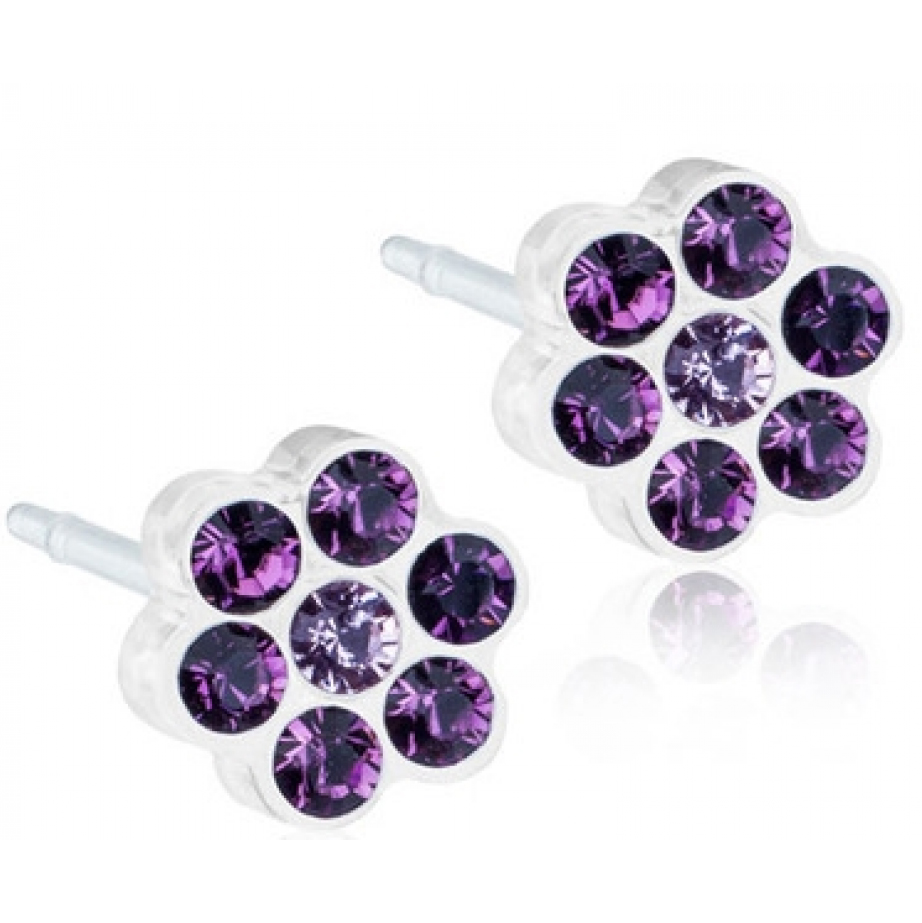 Image of   Blomdahl Daisy Amethyst 5 mm