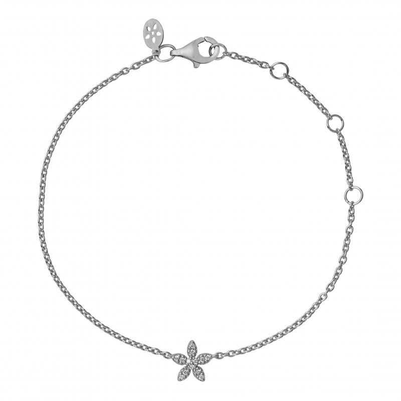 Image of   byBiehl Forget Me Not Armbånd i Sterling Sølv 2-004A-R