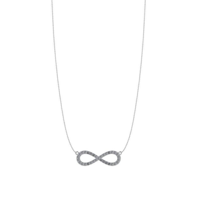 Smykkekæden Infinity Sølv Halskæde