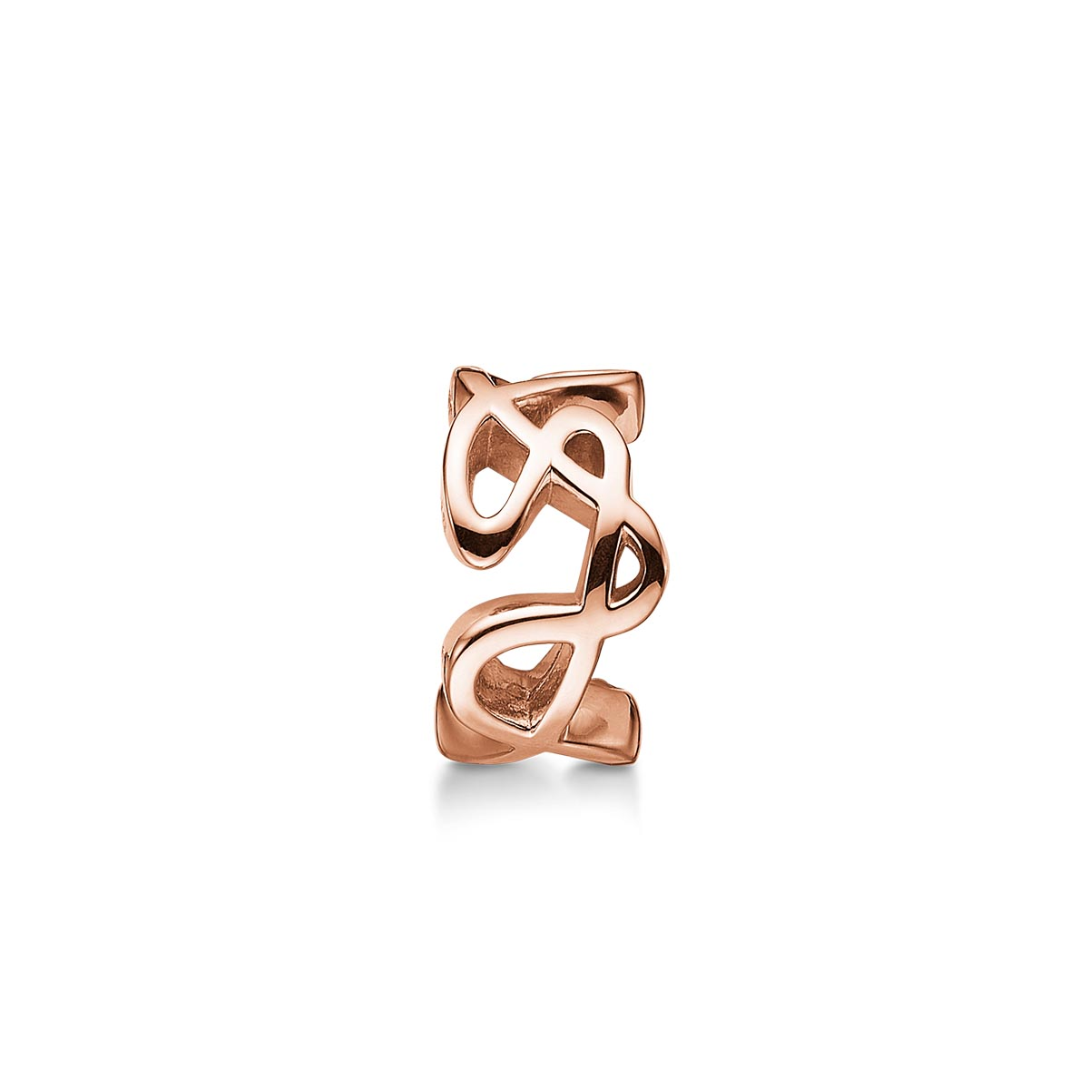 Image of   STORY CHARM OVAL ROSA/FG