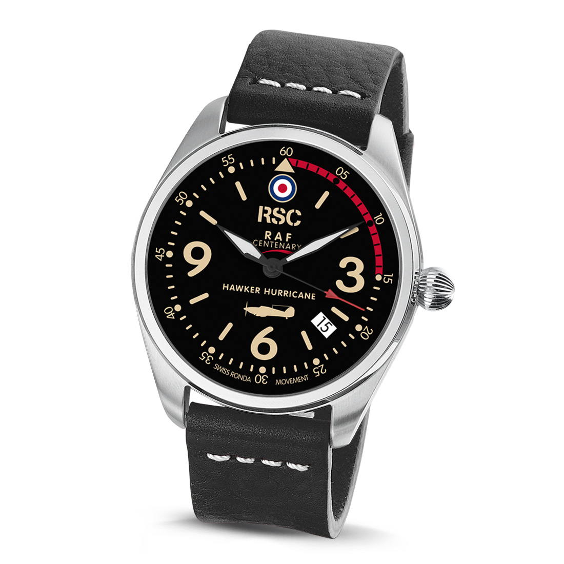 Hawker Hurricane Limited Edition (100 Eks.) Herreur Fra RSC Watches RSC2043