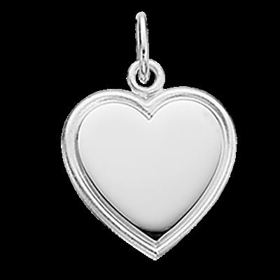 Hjerte Sterling Sølv Vedhæng fra Scrouples 207822