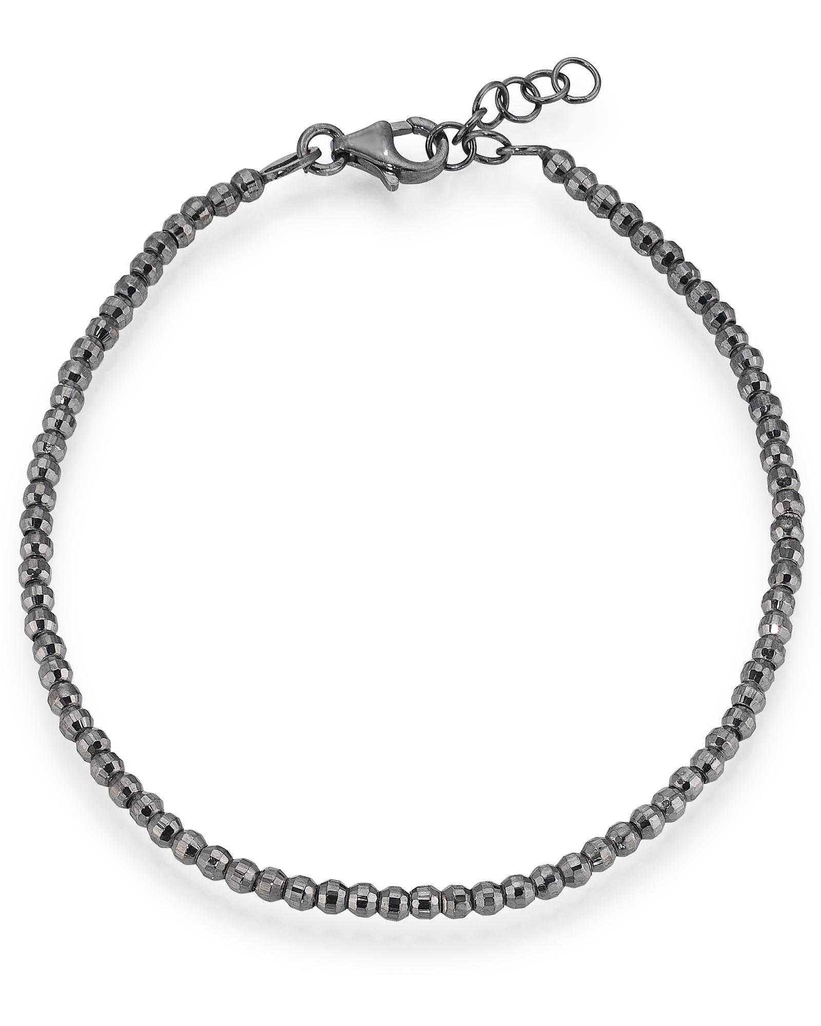 Aagaard Rhodineret Sølv Armbånd