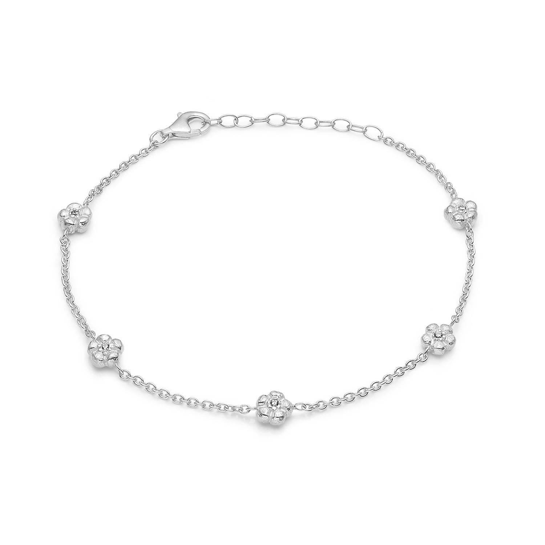 Blossom Armbånd i Sterling Sølv 21121221-20