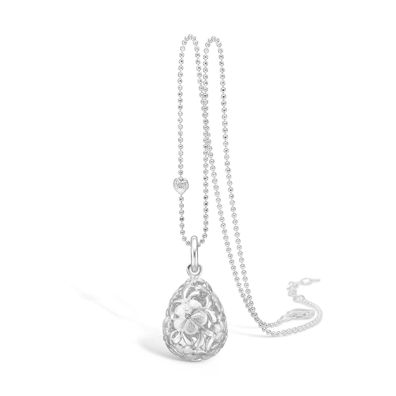 Image of   Sølv Halskæde fra Blossom 21321227-80