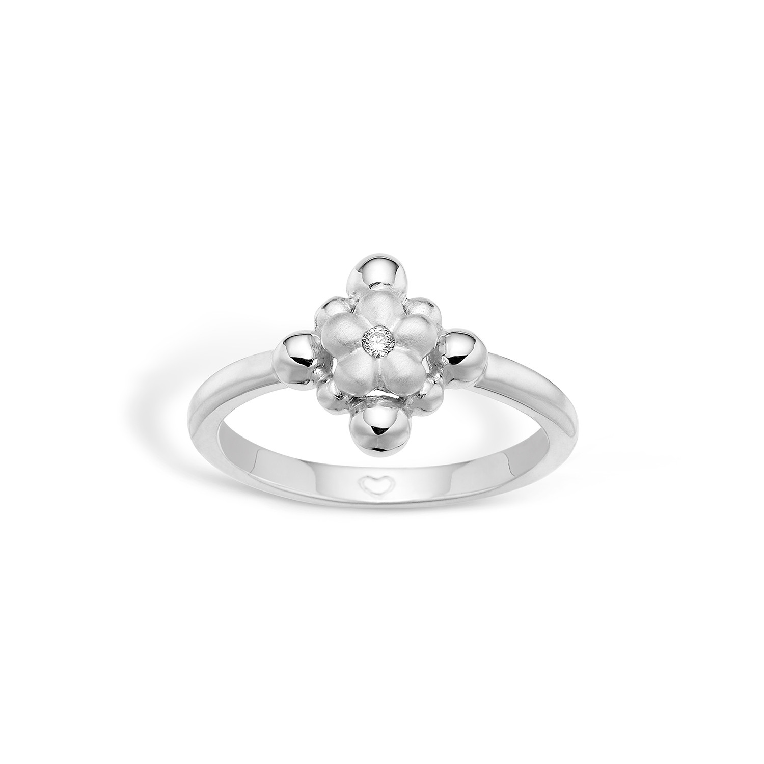 Image of   Blossom Ring i Sterling Sølv 21621232
