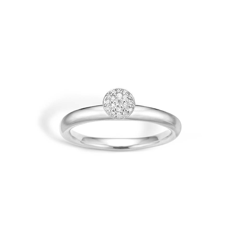 Image of   Blossom Sterling Sølv Ring 21625020