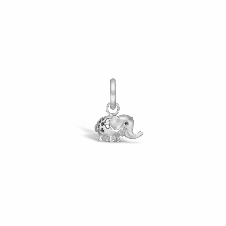 Image of   Blossom Vedhæng i Sterling Sølv med Elefantmotiv 21811202
