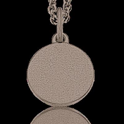 Rhodineret Sølv Halskæde fra Scrouples 222542