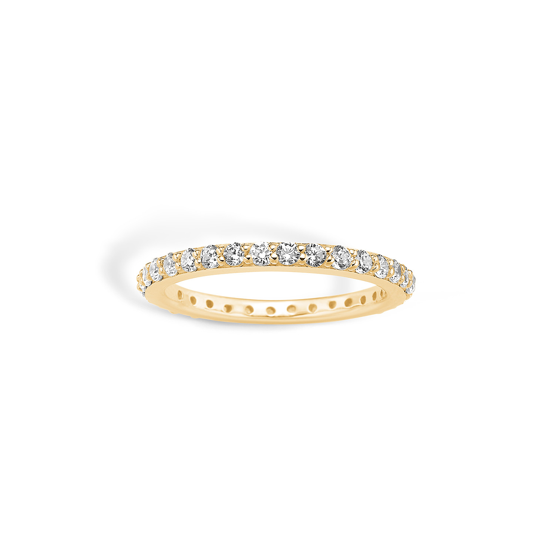 Image of   Blossom Forgyldt Sølv Ring 23625045