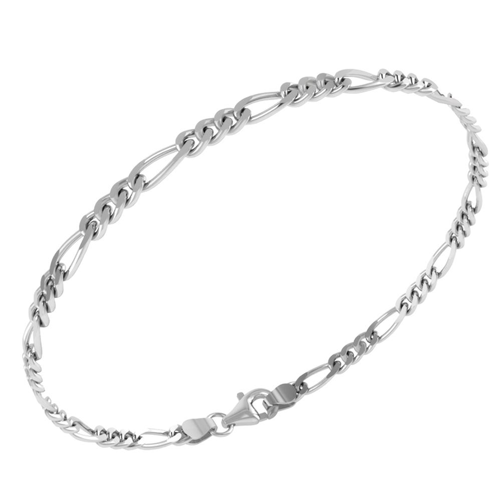 Image of   Armbånd fra Smykkekæden med Figaro Mønster 24370832,17/20-925