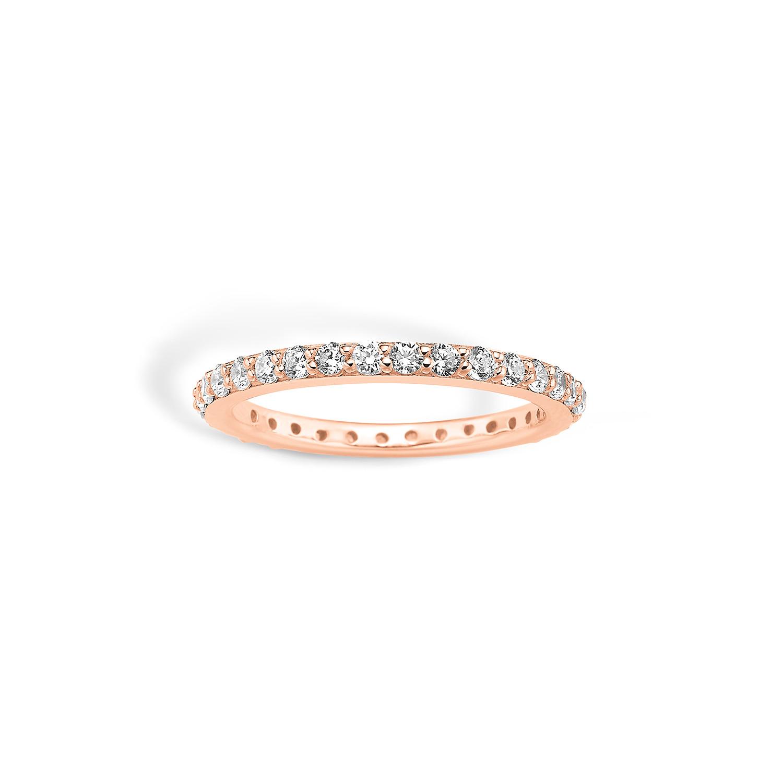 Image of   Blossom Ring i Rosaforgyldt Sølv 24625045