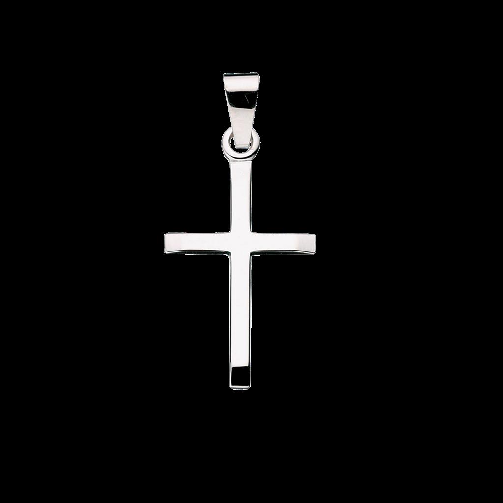 Scrouples Kors Sterling Sølv Vedhæng 26652
