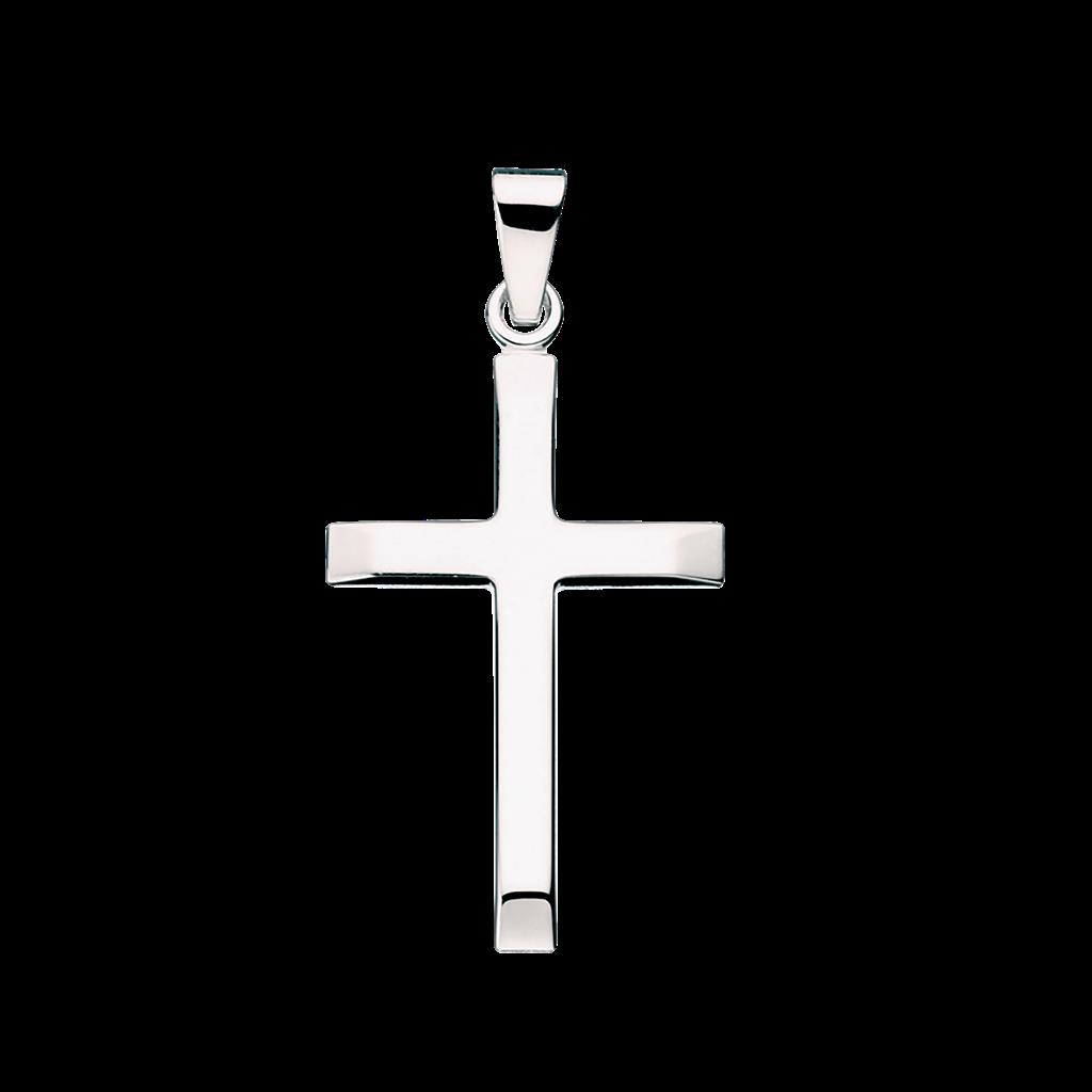 Kors Sterling Sølv Vedhæng fra Scrouples 26662