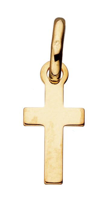 Kors 8 Karat Guld Vedhæng fra Scrouples 284093