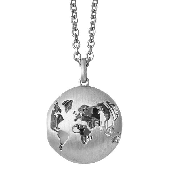 Image of   byBiehl Beautiful World Sterling Sølv Halskæde 3-1603-R
