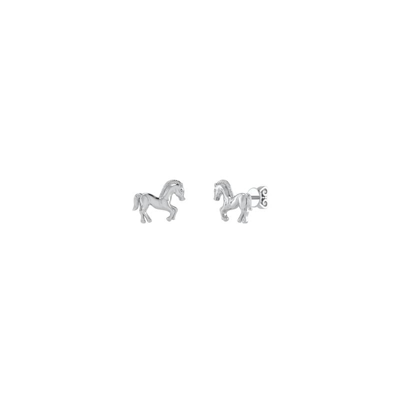 Sølv Ørestikker fra Smykkekæden med Hestemotiv