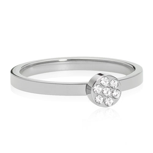 Brilliance Plenary Titanium Ring fra Blomdahl med Swarovski Krystaller thumbnail