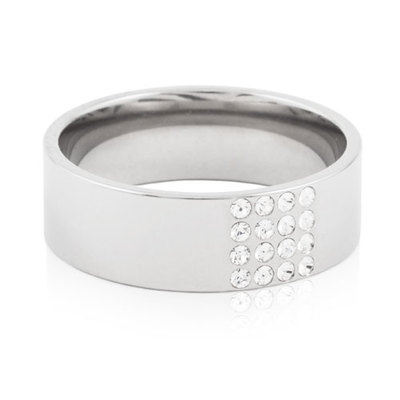 Image of   Blomdahl Brillance Titanium Ring
