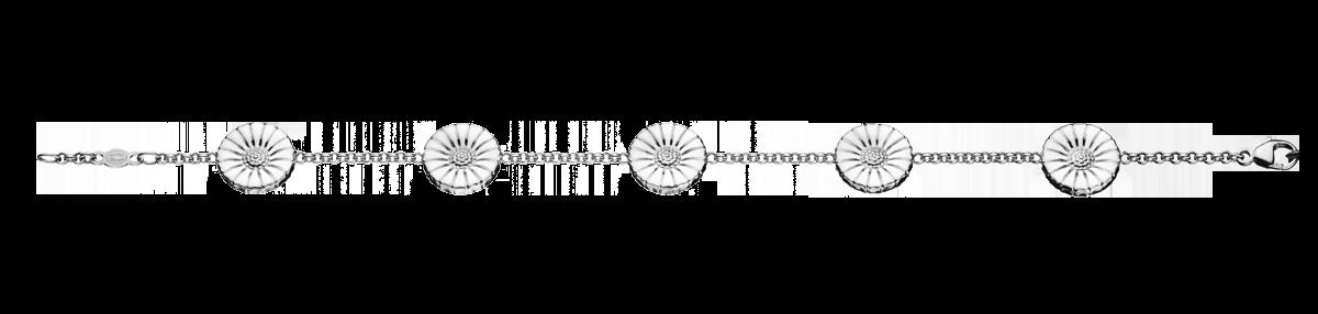 Georg Jensen Daisy armbånd 18,5 cm