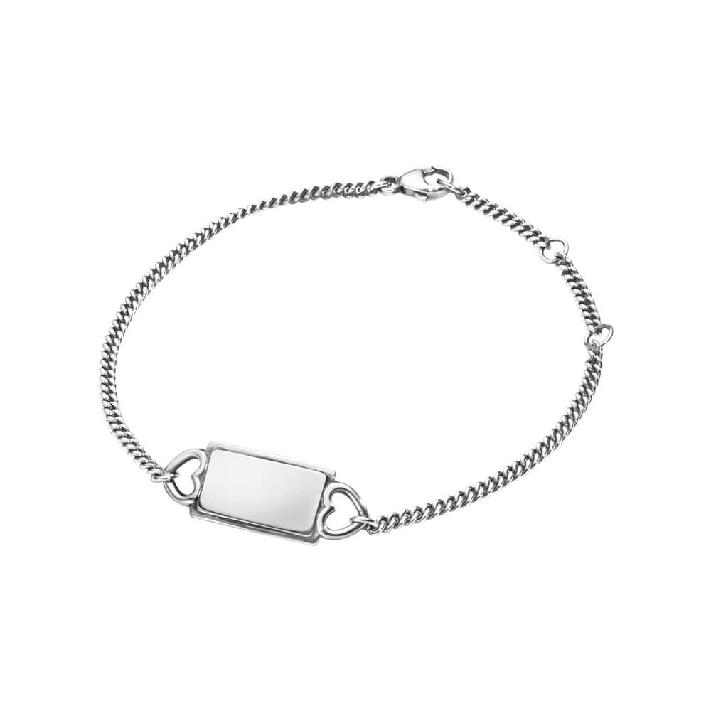 Image of   Georg Jensen Hearts Of Georg Jensen Sterling Sølv Armbånd