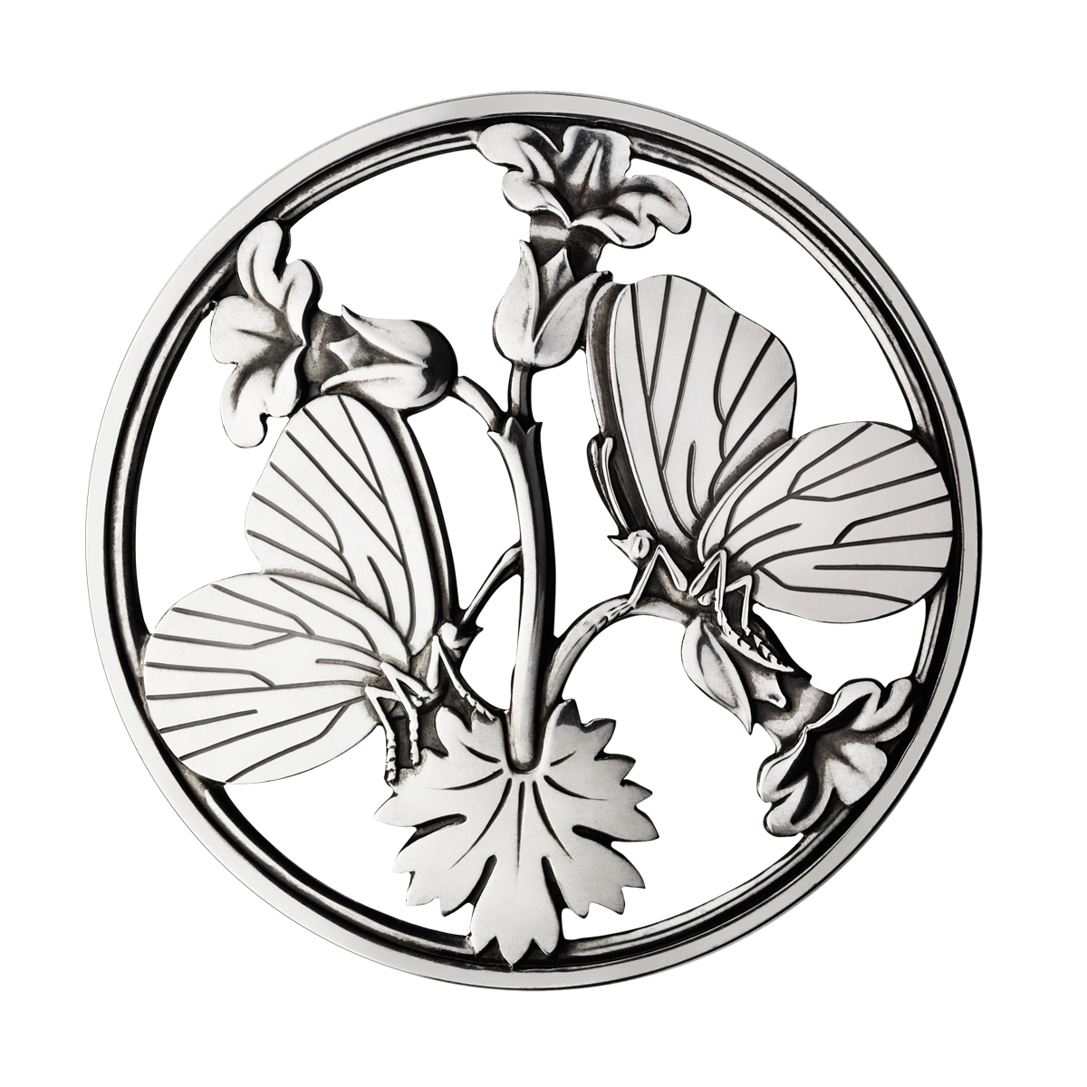 Georg Jensen Moonlight Blossom broche