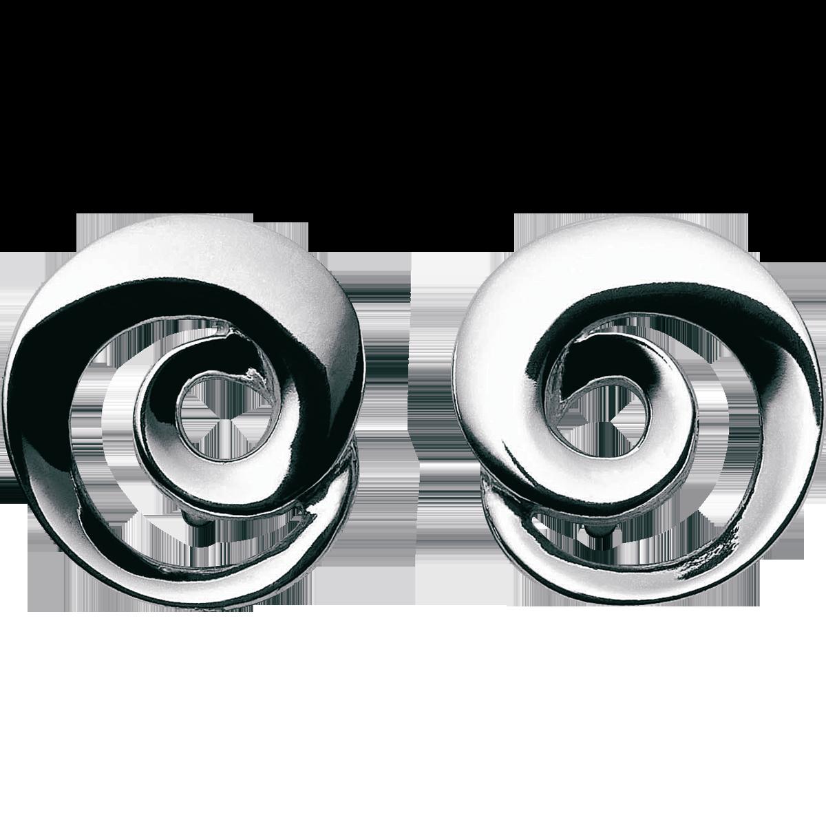 Georg Jensen Continuity øreringe sølv