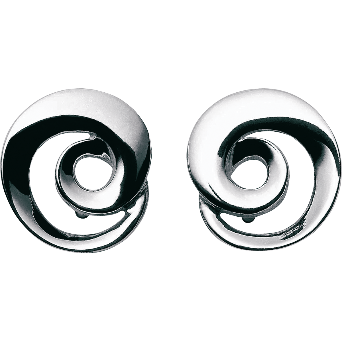 Image of   Georg Jensen Continuity øreringe sølv