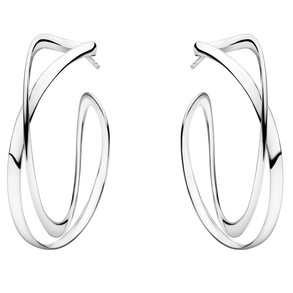 Image of   Georg Jensen Infinity øreringe 36 mm