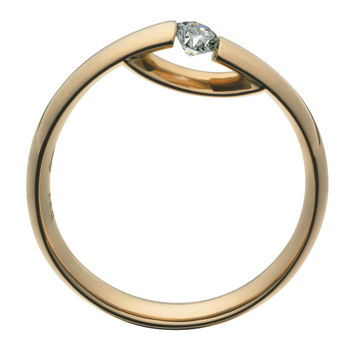 Georg Jensen Centenary ring 18 kt med diamant